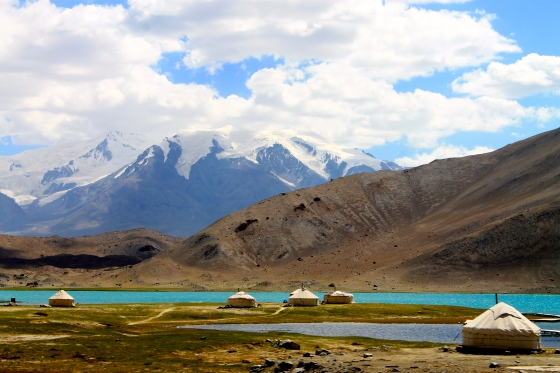 Karakul Lake along the Karakoram Highway