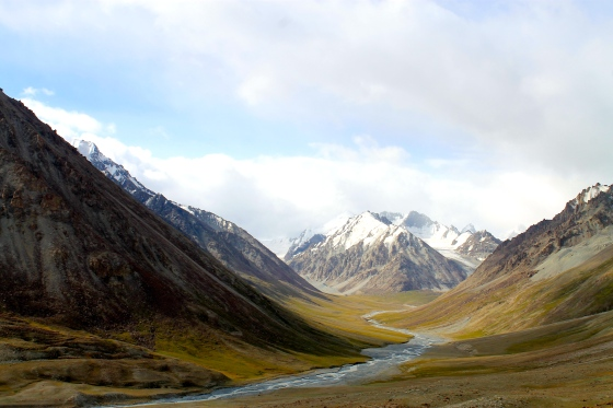 Along the Karakoram Highway, minutes from Pakistan