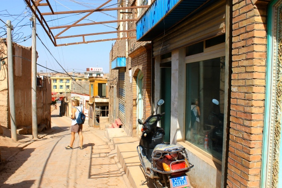 The real Old Town in Kashgar