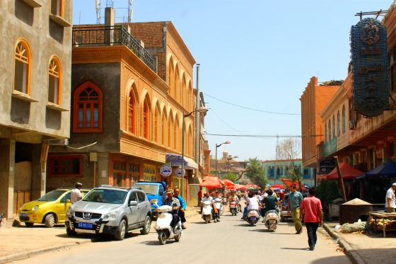 "The New ""Old"" Town in Kashgar"