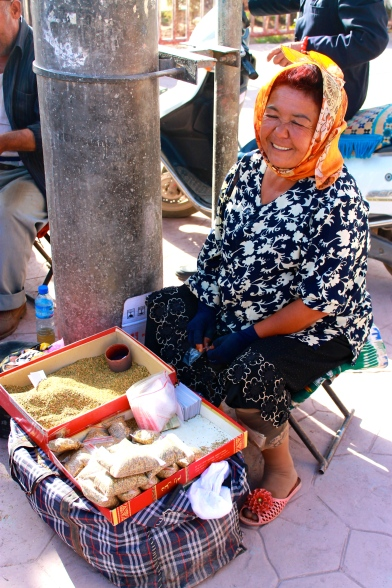 Uyghur tobacco or weed, small bag sells for 18c