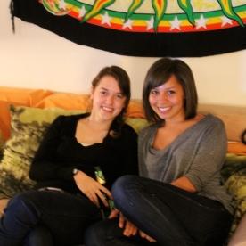 Amanda and me
