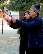 Learning some game, Temple of Heave, Beijing