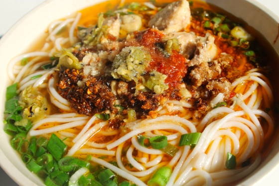 China's best noodles, Xishuangbanna