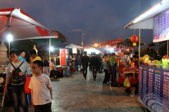 China's best night market, Xishuangbanna