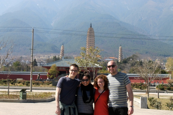 Three Pagodas and Three of my Bests, Dali
